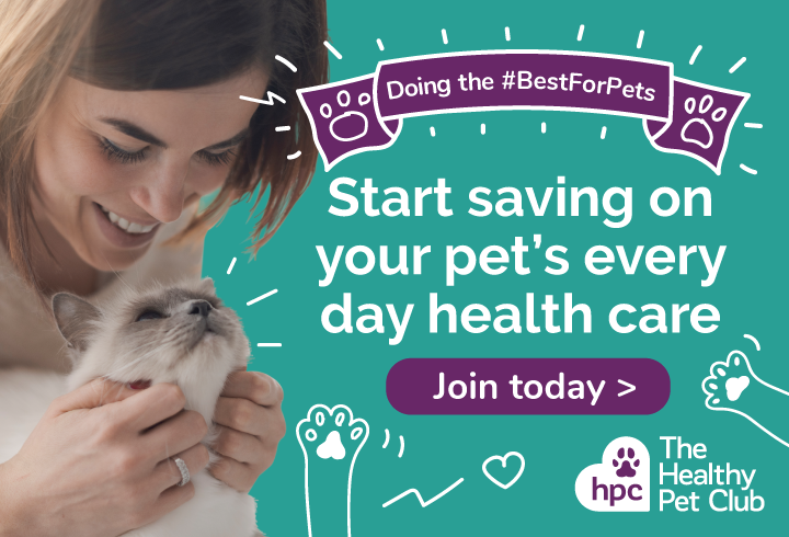 Join the Healthy Pet Club